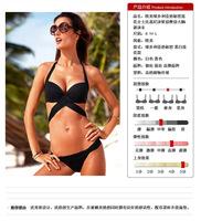 2015 Hottest Sexy Women Bandage Bikini Sexy Triangle Swimwear Swimsuit Bikini Set Micro Mini Thong
