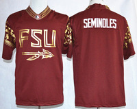 College Florida State Seminoles fashion red football jerseys ncaa adult mix order free shipping