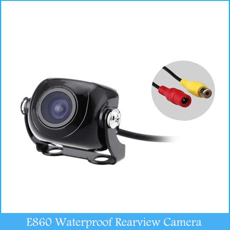 E860 170 Degree Waterproof Car DV Rearview Camera Car Rearview Black Auto Video Camera C265(China (Mainland))