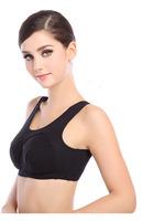 2015 New Spring Push Up Seamless Cotton Sport Bra Sexy Tops Women Bust Bra Sleeping Yoga Running Active Underwear B C D Cup
