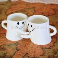 New Milk Coffee Mug hug ceramic  mug Great Gift for Love Valentine's day gift New year gift mug set  free shipping
