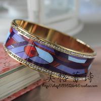 [5 ] FREY special discount enamel art of living gold enamel diamond bracelet No.