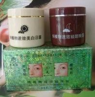 Free Shipping Facial Dark Spot Remover skin bleaching whitening cream day and night 20gx2