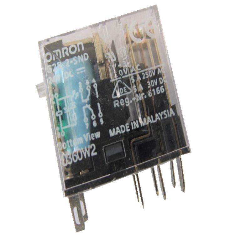 Реле Omron 5pcs g2r/2/snd 24VDC 12000701 G2R-2-SND