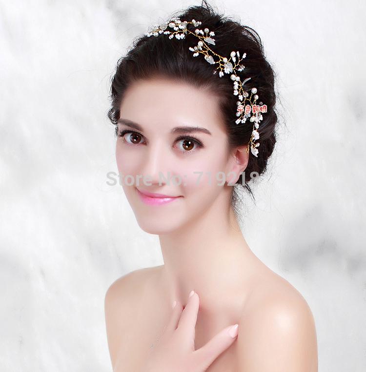 Wedding Flowers Hair Band Get Cheap Rhinestone Headbands For Prom Aliexpress