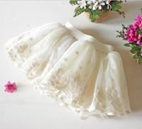 2015 3-8Years Summer Girls Lace Skirts Tutu Korean children skirts mini skirt beautiful princess Fluffy skirts ball gown