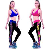 Yomsong New Arrival Women Leggings Fitness Tights Legggings 2015 Sexy Patchwork Leggins 4 Size S M L XL Sports Leggings