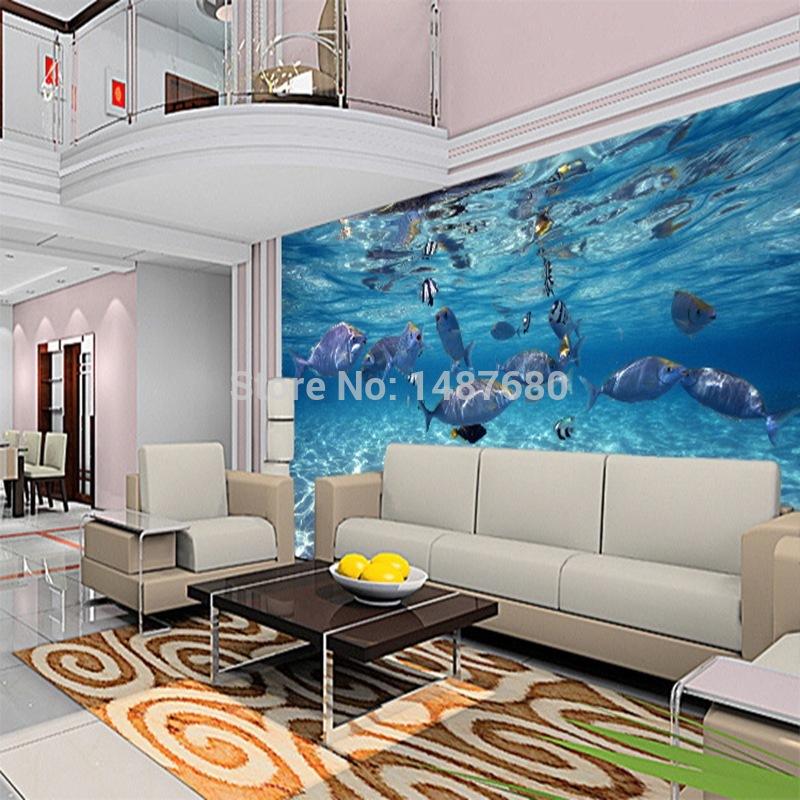 Online kopen wholesale behang vis uit china behang vis groothandel - Wallpapers voor kamer ...