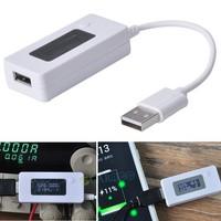 2014 LCD voltmeter usb tester new led usb charger doctor voltage current meter tester monitor power detector B11 SV007134