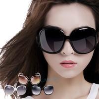 2014 New  Women's Designer Oversized Vintage Tortoise Frame Lens Retro Round Sunglasses Shades Eyeglasses Glasses B9 SV002740