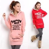 HOT SALE Plus size new 2015 casual full Hoodies women letter girl Hoodies sweatshirt  M-L-XL-XXL