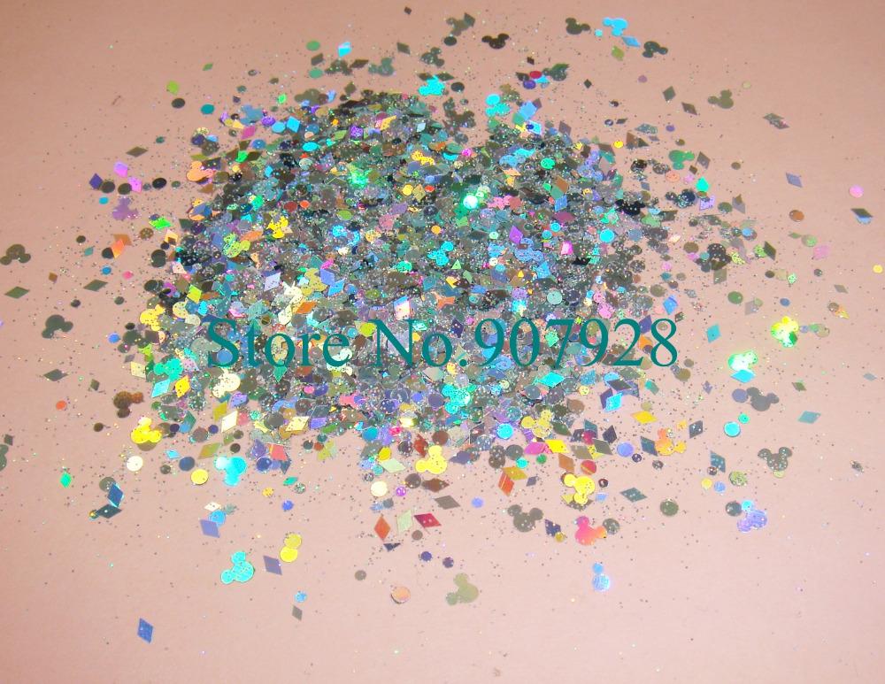 Блестки для ногтей Solvent Resistant Glitter 30 x + + SR-002M mutoh rh2 falconii solvent resistant pump