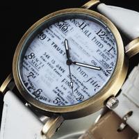 Novel Letters Dial Desiger New Quartz Wrist Watch Women Fashion Watches Bracelet Casual Dress Sports Case relogio masculino 4755