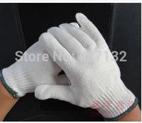 80% cotton wear-resistant knitted line gloves hand protection men women work glove workshop glove