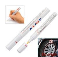 Universal Car Motorcycle Waterproof Permanent Tyre Tread Rubber Marker Paint Pen Metal Outdoor Marking Creative 1 pcs