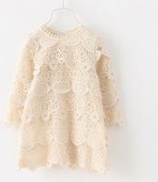 Best-selling Super beautiful  double lace girls dress  5pcs/lot