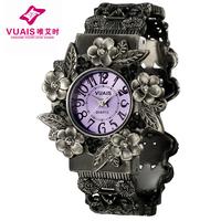 Watch ladies watch steel strip waterproof female student table fashion women's vintage bracelet watch quartz watch