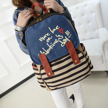 New Style Rucksack Cute Lady Girls Versatile Canvas Backpack Shoulders bag  School Bags for women Travel Backpacks (China (Mainland))