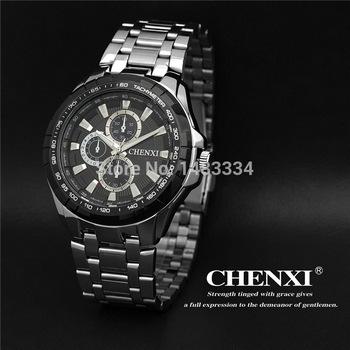 Мода швейцарский импортные мужчины часы из нержавеющей стали кварцевые часы спортивные водонепроницаемые часы мужчины CX-031A бесплатная доставка