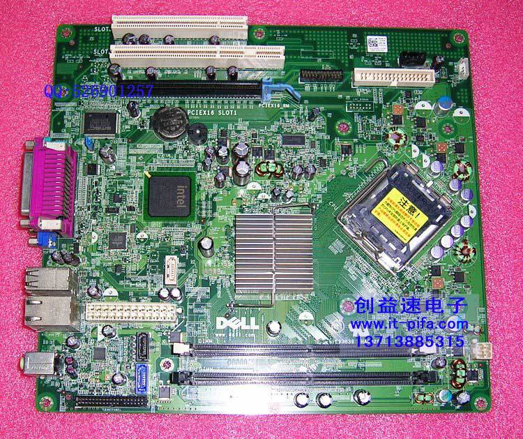 Free shipping for origianl system motherboard for T656F OptiPlex 360 board chipset G31 LGA775 DDR2 BTX(China (Mainland))