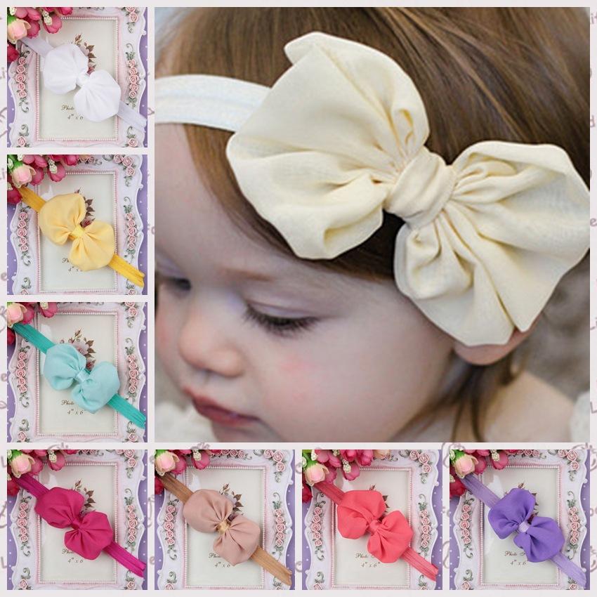 flower Headwrap Ears Bow Knot Headband Fashion Hairband Wholesale Baby Hair Accessories Hairware(China (Mainland))