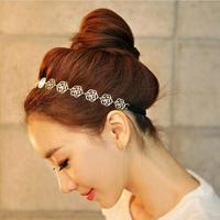 Fashion Korea Style Hairpin Full Crystal Rhinestone Hair Accessories Butterfly Shape Hairpin Headdress Clip