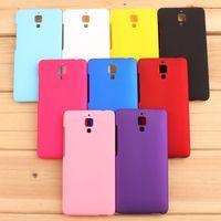 For Xiaomi Mi4 Case,Original Brand Ultra-thin Back Cover Phone Cases For Xiaomi Mi 4 M4 Cell Phones Case + Film + Stylus