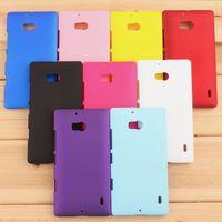 For Lumia 929 930 Case Cover,Hybrid Hard Plastic Back Case For Nokia Lumia 929 930 927 Phone Cases + Film + Stylus