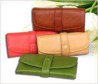 2014 Euro fashion long Design Genuine Leather Purse Muiltfunction Women Wallets Clutch