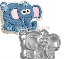 2015 nova Elephant bolo de alumínio decoração Tin Sugarcraft Baking Pan ferramenta(China (Mainland))