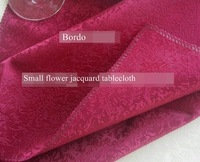 diameter 440cm 176 inches coffee table cloth bordo polyester tablecloths round jacquard cutwork embroidery tablecloth