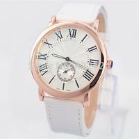 New Model Fashion Lady/Women Watch Leather Watch Women wristwatch Clock Female Hours Bracelet Watch 3 Colors Free Shipping