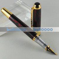 FOUNTAIN PEN JINHAO 250 M NIB GOLD RED J117