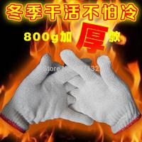 lengthen thick encryption cotton yarn wear-resistant gloves safety gloves men women workshop glove