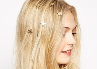 ZH1027 New Fashion hair jewelry 2015 women Lovely star hair accessories