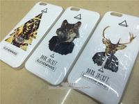 "30pcs Wholesale! Brand Elevenparis Leopard Animal Dog TPU Beatles Deer Rabbit Bunny Case for Apple iphone 6 4.7"" Cover"