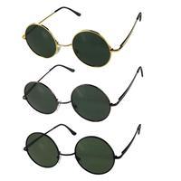 New Arrival vintage style Classic ROUND Polarized Sunglasses Metal frame polarized lens For Men and Women TAC polarized lenses