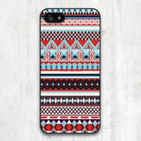 New Case For iPhone 6 5 5S 5C 4 4S and 6 Plus Red Pink Blue Aztec Geometric Protective Cover Cases
