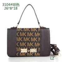 2015 Special School Monogram new mk handbags new portable shoulder bag mk hand bag rivets leisure