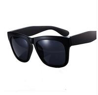 2015 Sunglasses  Star style big box black polarized male women's lovers design polarized sunglasses glasses