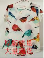 Fashion Summer Chiffon Women Blouse Multi Color Print Shirts Loose Short Sleeve Casual Blouse Femininas Plus Size blusas Tops