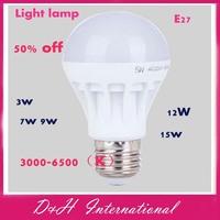 Home Led bulb E27 B22 Light lamp 3W 5W 7W 9W 10W 12W 15W 24w 18w 36w 220v 240V Cold  white and Warm White