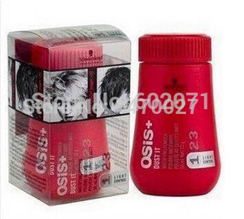 osis dust it Hairspray Hair Powder/Mattifying Powder Finalize Design Styling Gel Mattifying Powder /Fluffy hair/for 3pcs/lot(China (Mainland))