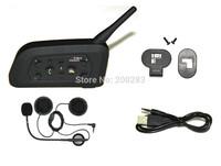Multi-Interphone 6 Riders Motorcycle Helmet Wireless Bluetooth Earphone Waterproof