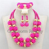 Wholesale Fashion Women Jewelry Set Wedding Party Jewelry Sets Nigerian Statement Jewelry Sets Free Shipping GS940