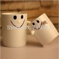 Smile Morning mug ceramic tea coffee water milk mug for New Year valentine' gift  mug set free shipping