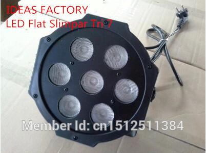 6pcs/lot Fast Shipping American DJ Mega Tri Par Profile Bright Stage LED Wash Light RGB Color Mixing 7x9W(China (Mainland))
