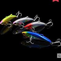 Lot 4pcs Metal VIB Rattlin Fishing Lures Japan Wobbler Hard Lures Swimbait Pescaria Peche Online Fishing Store