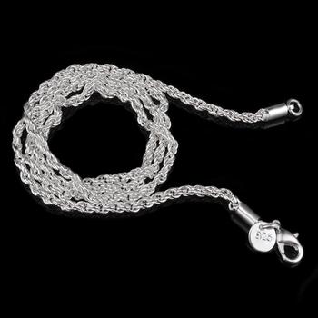Хлыст ожерелья серебро 925 ожерелье feМиниnos ювелирные изделия женщины ожерелье ...