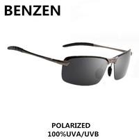 2015 Men Polarized Sunglasses Alloy Male Rimless Sun Glasses Driving Goggles Oculos De Sol Masculino With Case 9061